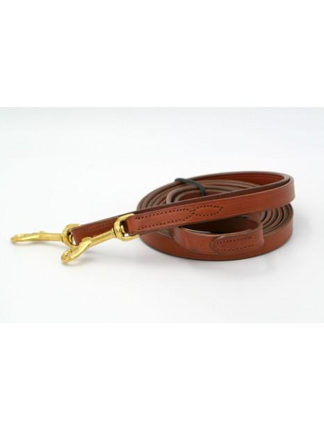 Reins brown leather Marjoman